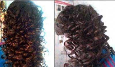 یک روش ساده و حرفه ای برای فر کردن موها